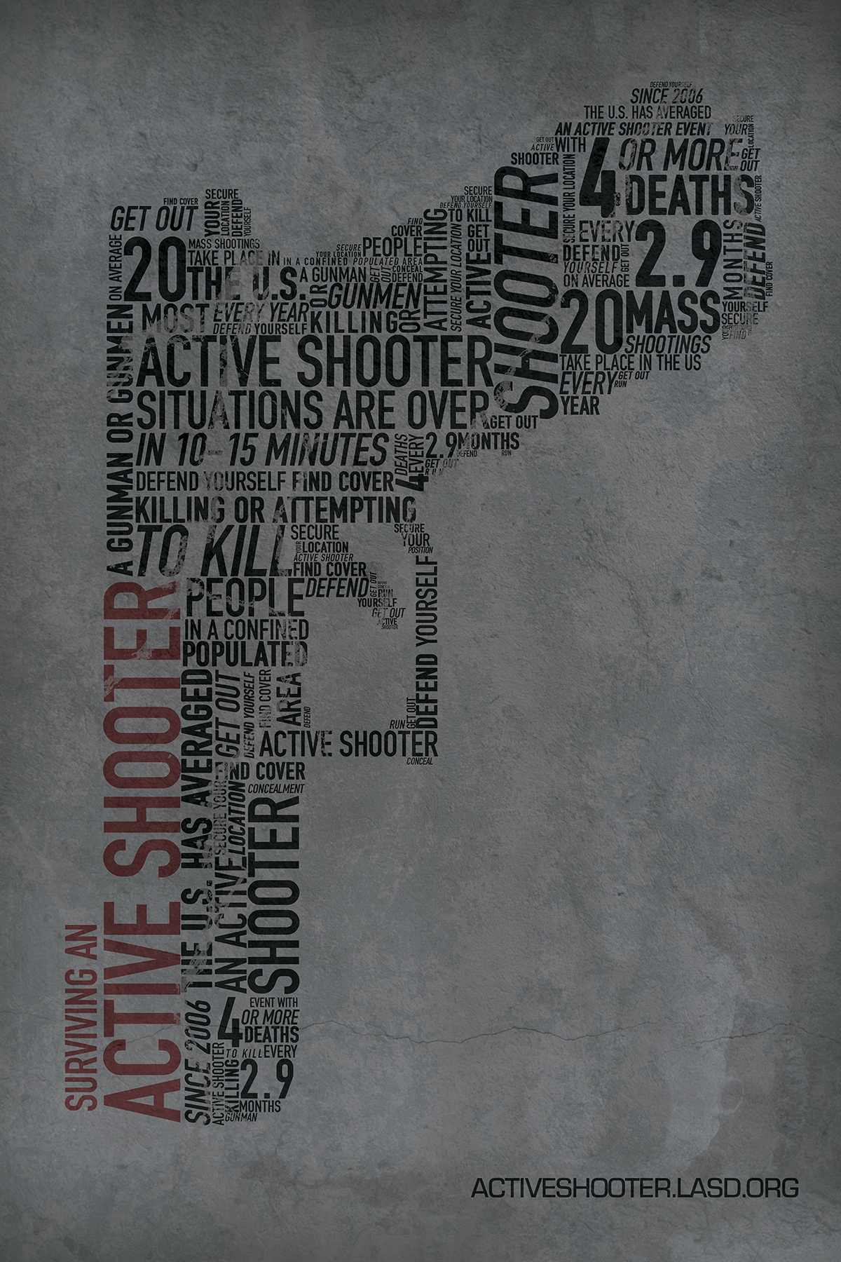 Surviving an Active Shooter - Poster #2