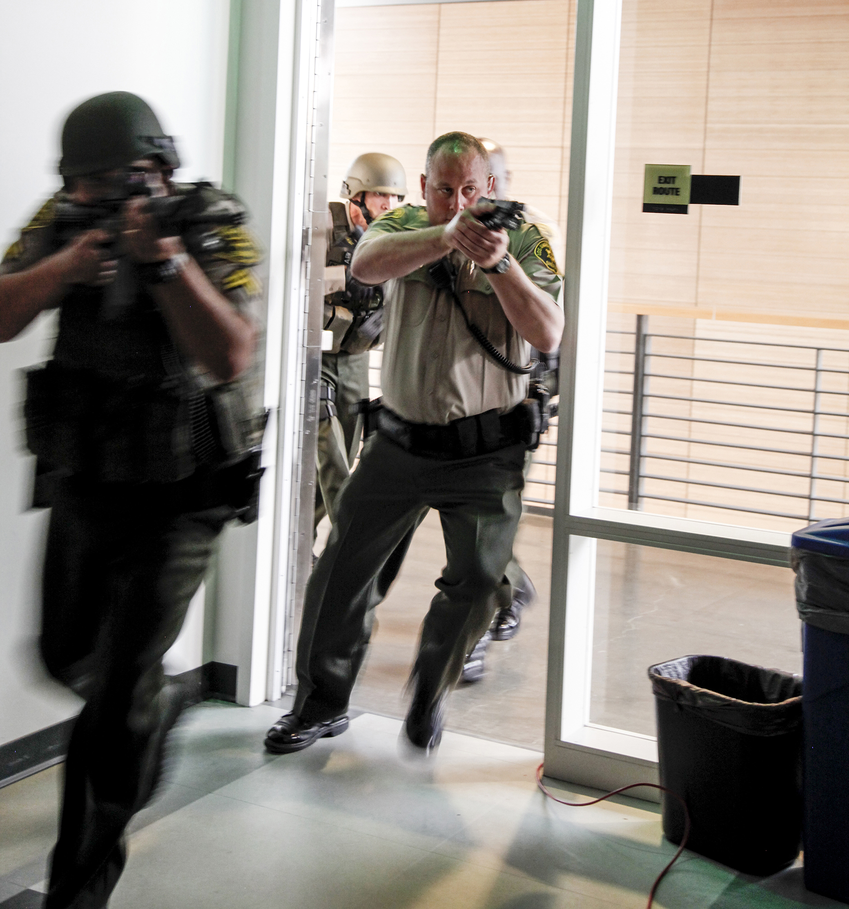 Surviving an Active Shooter - Production Still
